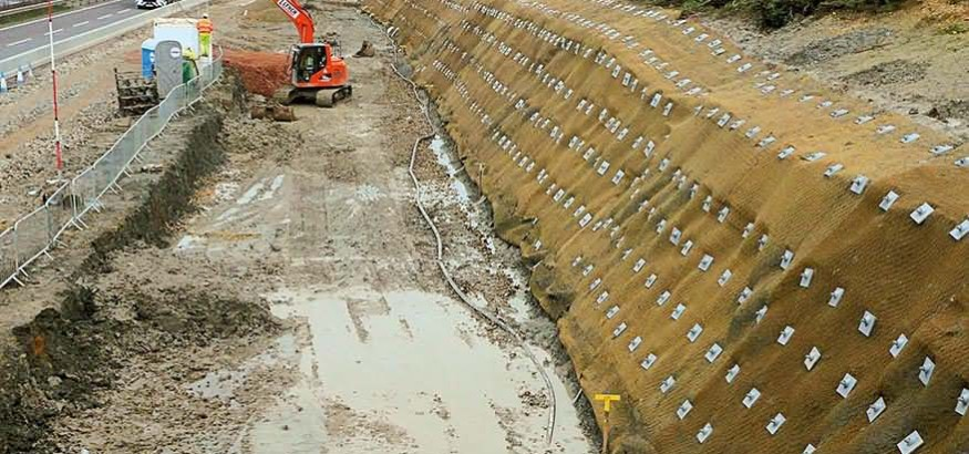 Soil Nail System for the Extension of A14 Trunk Road