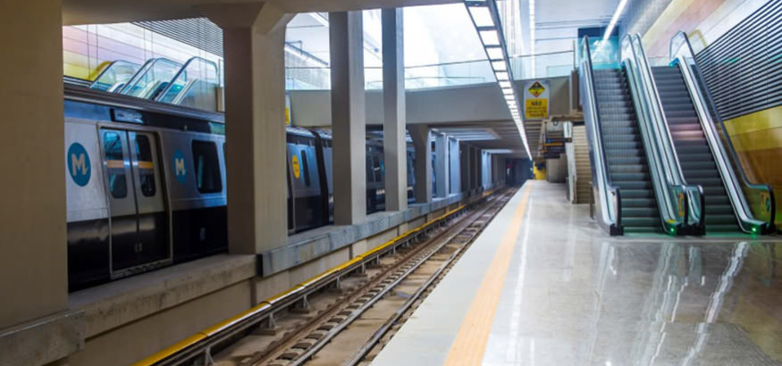 Metro Line 4 Opens for Rio 2016 Olympic Games