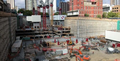 Several Problems in Deep Foundation Pit Construction Engineering
