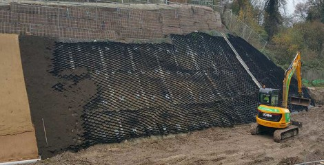 The practices of Sinorock soil nailing system