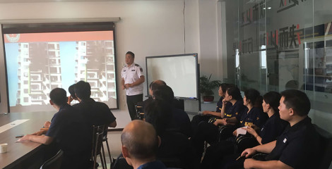 Sinorock organized staff to participate in fire knowledge training