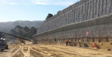 Soil nailing support for tunnel stability